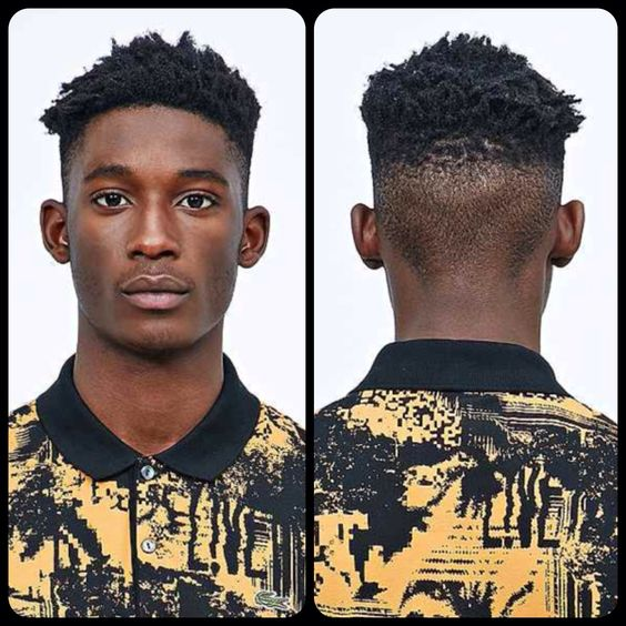 High Top 4a Type Curl Men S Textured Hairstyles