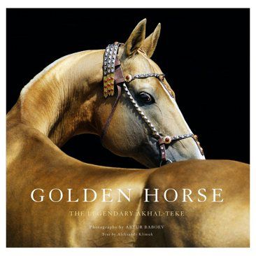Check out this item at One Kings Lane! Golden Horse: Legendary Akhal-Teke