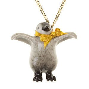 Baby Penguin Necklace