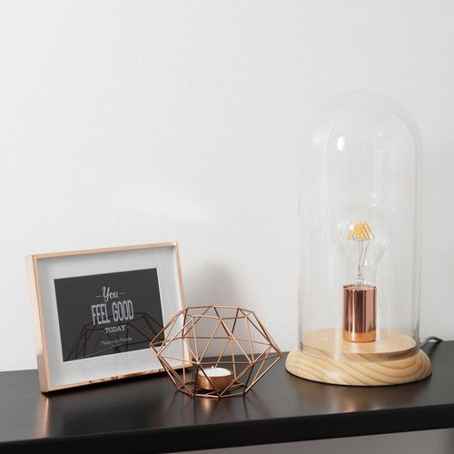 luminaire cuivre nouveaut lampe cloche maison du monde le blog d co de mlc luminaires. Black Bedroom Furniture Sets. Home Design Ideas