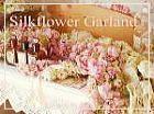 R u kidding me? Silk flower garland.... Calling all brides....