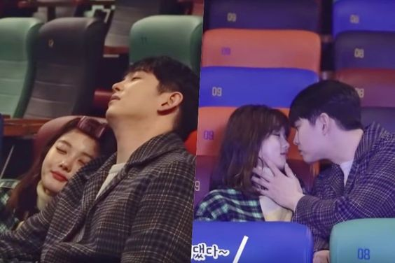 "Watch: Kim Yoo Jung And Yoon Kyun Sang Are Endearingly Awkward Behind ""Clean With Passion For Now"" Kiss Scene"