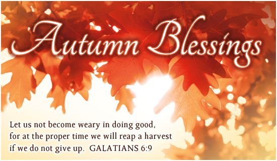 Charming Free Autumn Blessings ECard   EMail Free Personalized Autumn Cards Online |  Quotes | Pinterest | Blessings, Autumn And Scriptures Design