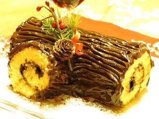 As receitas da Lau: Tronco de Natal