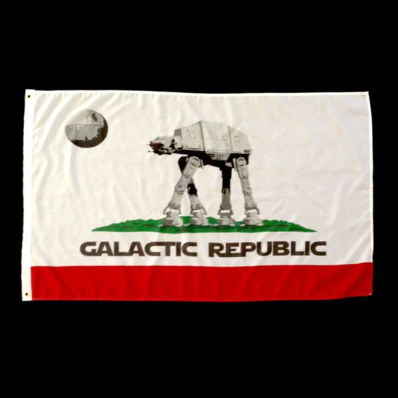 Hey, I found this really awesome Etsy listing at https://www.etsy.com/listing/229506187/star-wars-galactic-republic-california