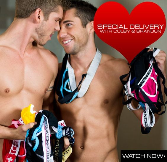 Colby Melvin & Brandon Robert Brown for Andrew Christian