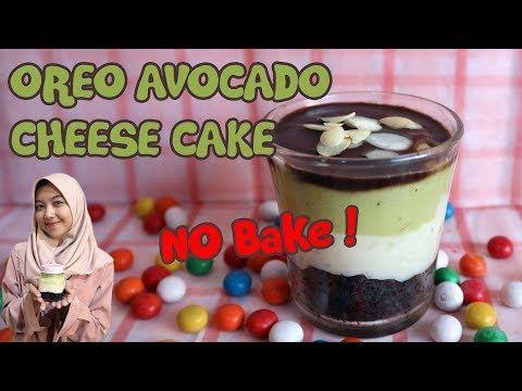 Oreo Avocado Cheese Cake Lumer Banget Dessert Mudah Dan Sederhana Youtube Cheesecake Avocado Dessert Oreo