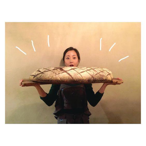 でっかいパンと木南晴夏