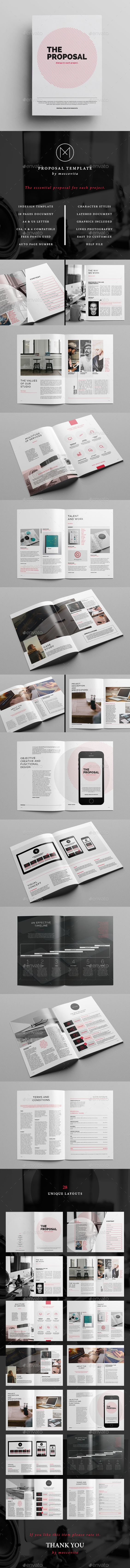 Proposal - #Proposals & Invoices Stationery Download here: https://graphicriver.net/item/proposal/11531351?ref=classicdesignp