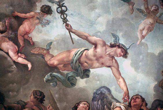 ceiling painting mercurio - Buscar con Google