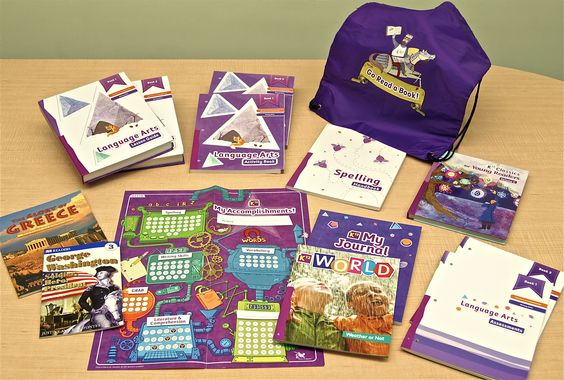 K12's Language Arts Purple is a full curriculum for teaching ELA to elementary students.
