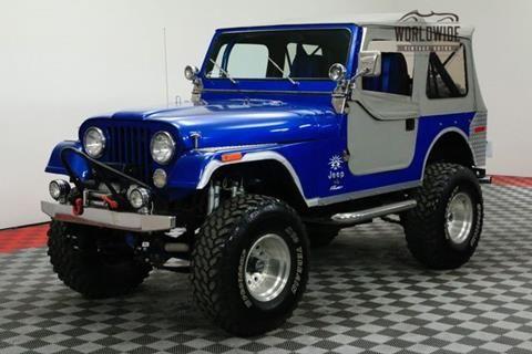 1976 Jeep Cj 7 For Sale In Denver Co Jeep Cj Jeep Cj7 Kids Jeep