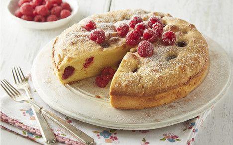 Mothers Day.....raspberry orange cake