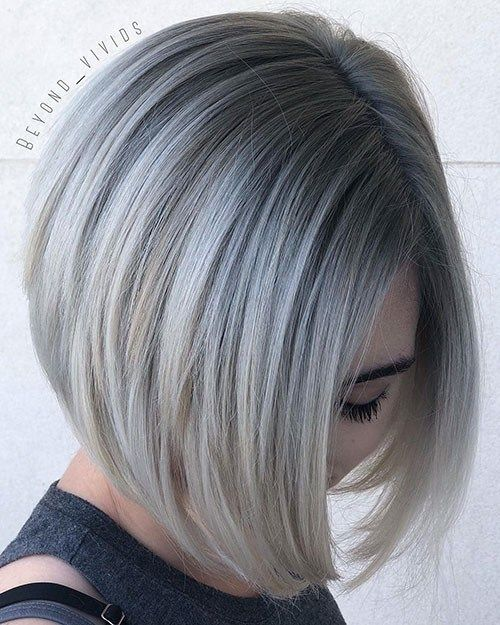 Ash Blonde Short Hair With Highlights New Ash Blonde Short Hair Ideas Ash Blonde Short Hair Short Hair Highlights Short Hair Balayage