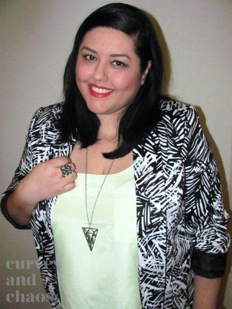blog mode femme ronde les 10 blogueuses rondes quil faut garder loeil 1 monique frausto. Black Bedroom Furniture Sets. Home Design Ideas
