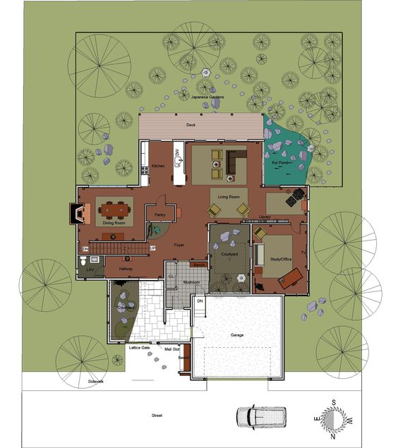 Traditional Japanese House Floor Plan Google Search Floorplans Pinterest House Design