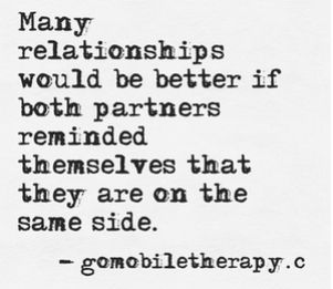 Marriage therapy, communication, relationship advice: