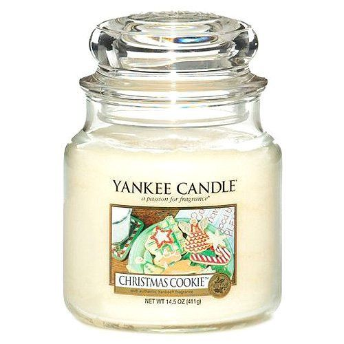 Yankee Frosty Gingerbread Xmas Paraffin Wax Candle Medium **FREE DELIVERY**