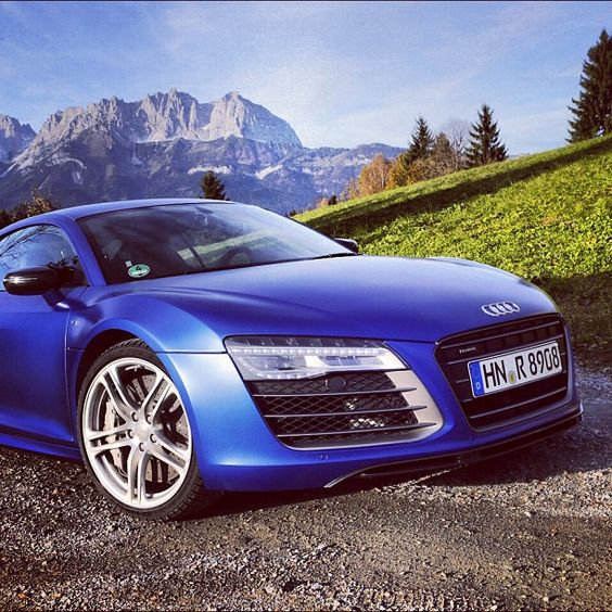 From Austria, with love. #R8intheAlps - taken by @audi - via http://instagramm.in