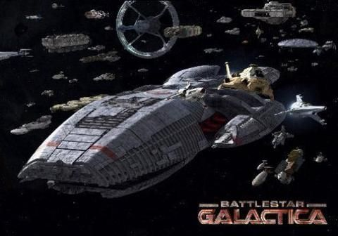 Battlestar Galactica Fleet Poster 24inx36in Battlestar Galactica Battlestar Galactica Movie Battlestar Galactica Ship