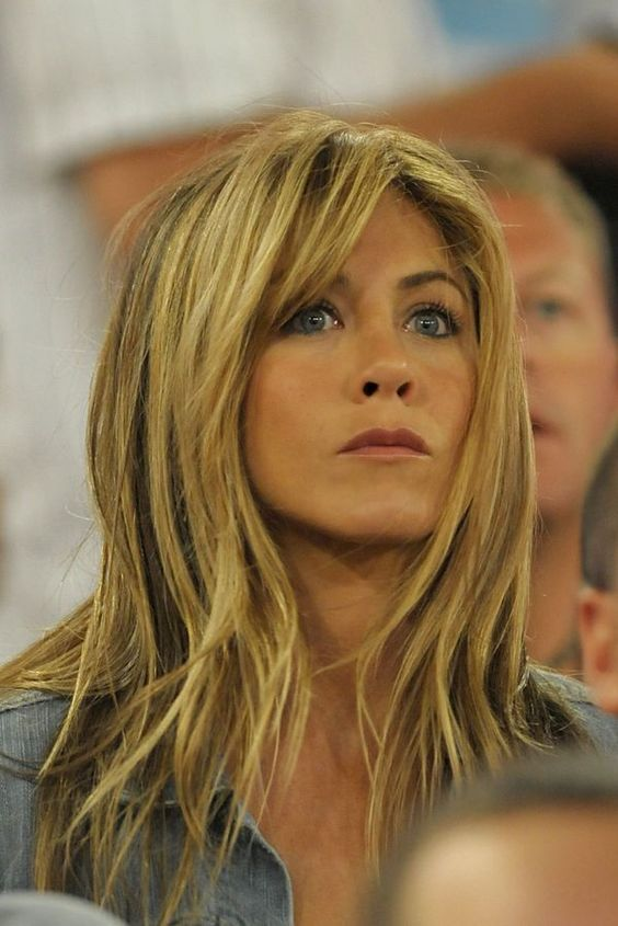 how to style your hair like aniston aniston o neill and bangs on 6197
