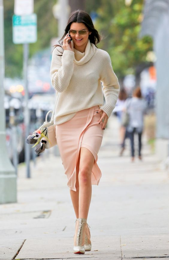 Sunlight on Cold Water: LOOK OF THE DAY : Kendall Jenner Out In LA