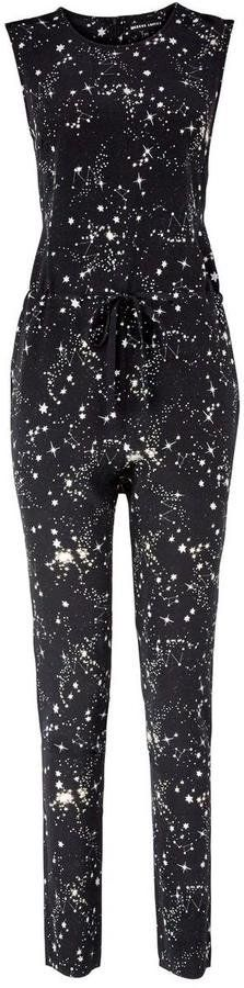 Pin for Later: Intergalactic Fashion You'll Want to Wear to Watch Star Wars  Markus Lupfer Constellation Star Print Silk Calista Jumpsuit (£350)
