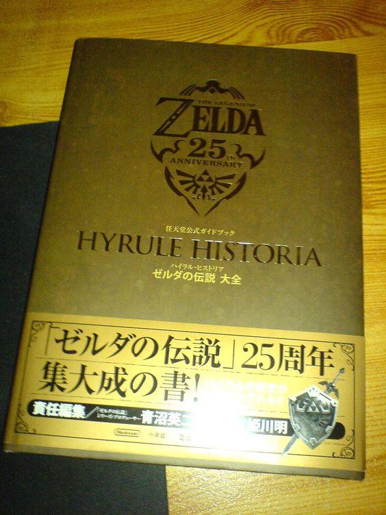Own personal Zelda.net's Hyrule Historia japanese book! ($115)
