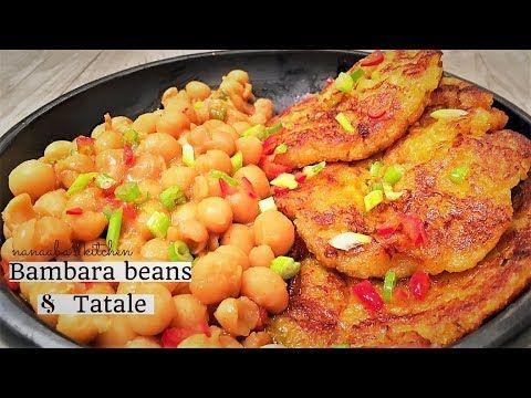How To Make Bambara Beans Nut And Tatale Ghana Recipe Recipes Food Jamaican Beef Stew