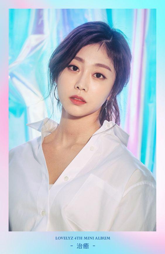 180413 #러블리즈 4th Mini Album  #治癒 🍃 Concept Photo 2 #러블리즈 #Lovelyz #Jisoo #지수