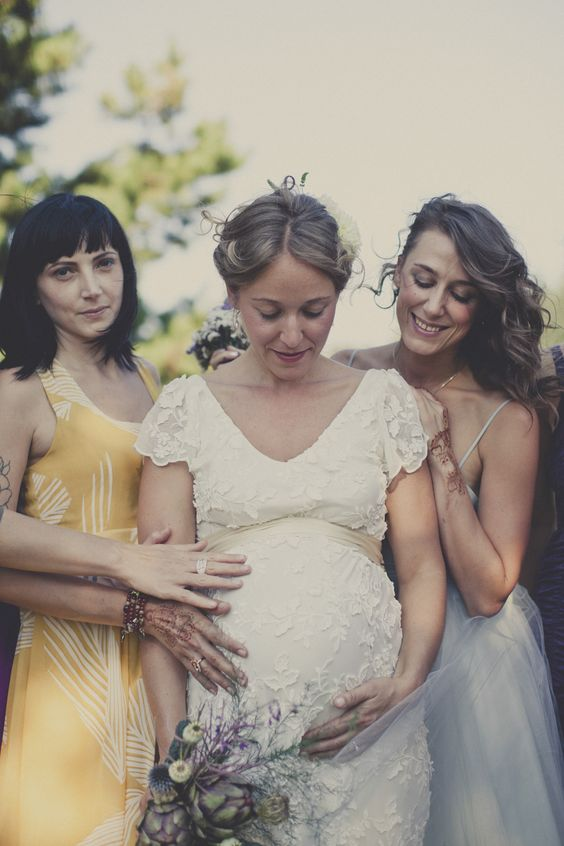 Tips for expecting brides & bridesmaids: