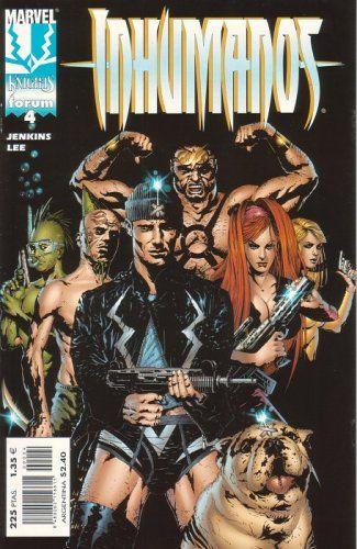 Inhumanos. Marvel Knights #4