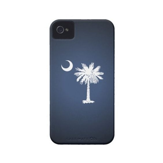South Carolina Flag Iphone 4 Case-mate Case ($33) ❤ liked on Polyvore featuring accessories and tech accessories