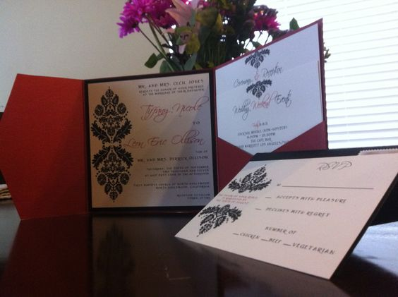 Tiff and Leon Wedding Invite