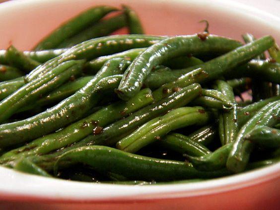 Honey Balsamic Green Beans Recipe : Paula Deen : Food Network