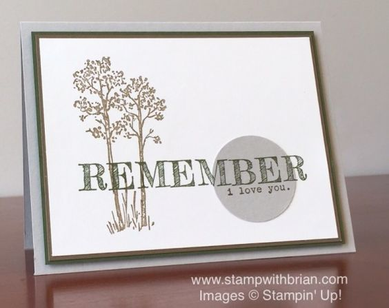 In the Meadow, Words of Truth, Stampin' Up!, Brian King, PPA296: