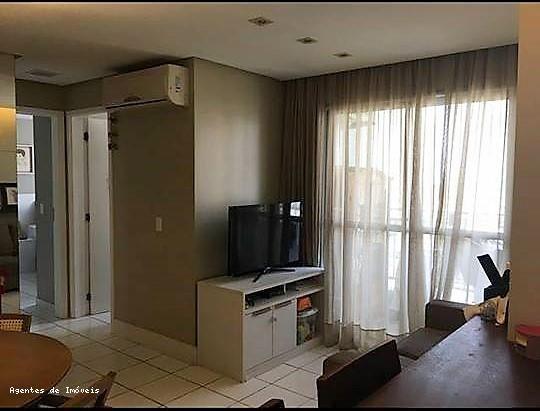 Apartamento para Venda, São Luís / MA, bairro Altos do Calhau, 2 dormitórios, 1 suíte, 2 banheiros, 1 garagem, mobiliado