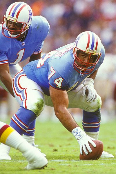 Bruce Matthews, Houston Oilers