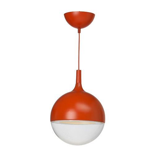 VÄSTER LED pendant lamp IKEA Gives a directed light; good for lighting dining tables or coffee tables.