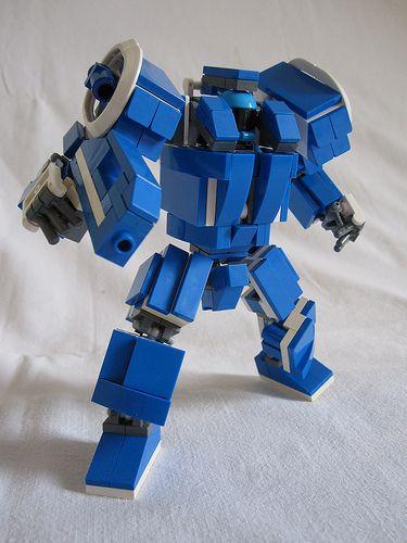 A.M.S. Assault Mobile Suit | Link www.mocpages.com/moc.php/3… | Flickr