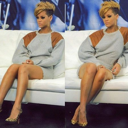 Magnificent Short Razor Haircuts Rihanna Haircut And Razor Haircut On Pinterest Short Hairstyles For Black Women Fulllsitofus