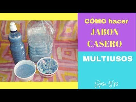 Como Hacer Jabon Casero Multiusos Jabon Para Piso Bano Cocina