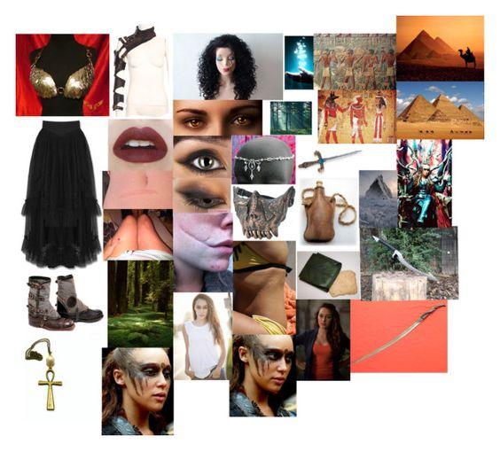 """""""Warrior"""" by alyssalapresta ❤ liked on Polyvore featuring moda, B. Ella, TIARA y Eleanor Long"""