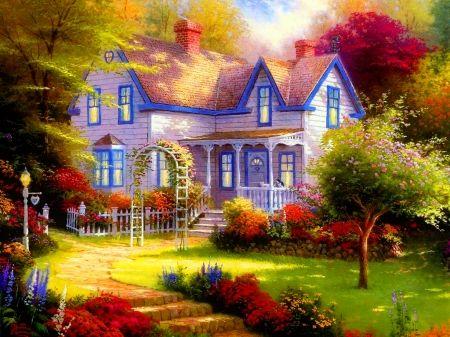Paradise cottage - Other Wallpaper ID 2010036 - Desktop Nexus Abstract