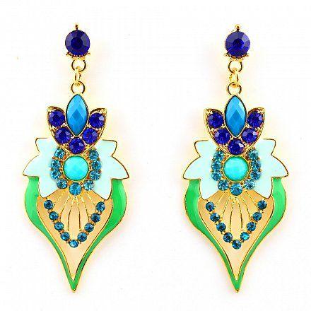 Chandelier Ohrringe LEORA von TRENDOMLY JOLIE Bijouterie Earrings Jewelry Trend 2014