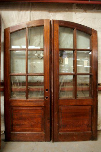 Beautiful old french doors doors windows pinterest for Double wide french doors