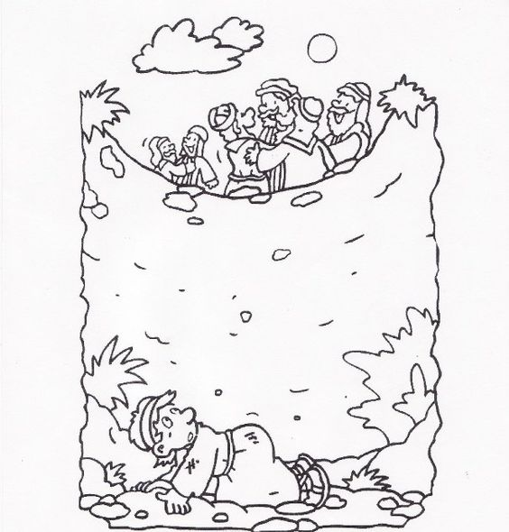 Joseph thrown in the well