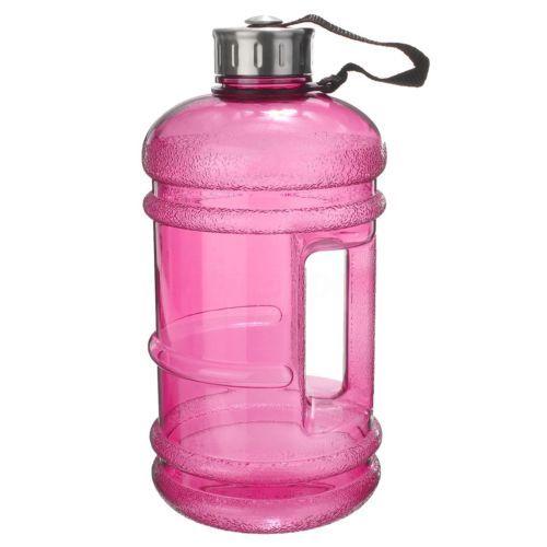 2.2L Drink Water Bottle Cap Big Large BPA Free Sport Gym Training Kettle Workout
