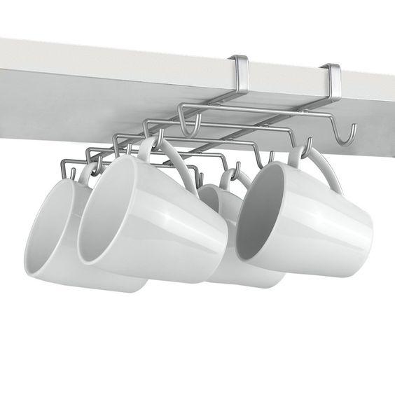 Metaltex My-Mug - Colgador para 10 tazas