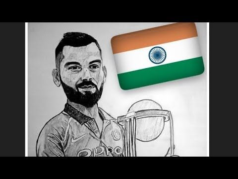 Step By Step Drawing Of Virat Kohli Anurag Bhatia Arts Youtube In 2020 Step By Step Drawing Youtube Art Drawings